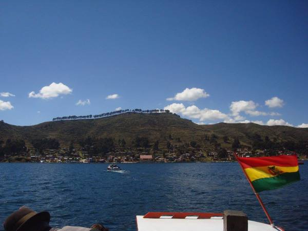 View of Lake Titicaca